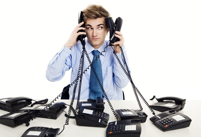 What's the difference between call handling and call answering?